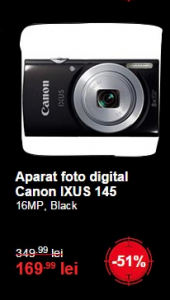 canon ixus black friday